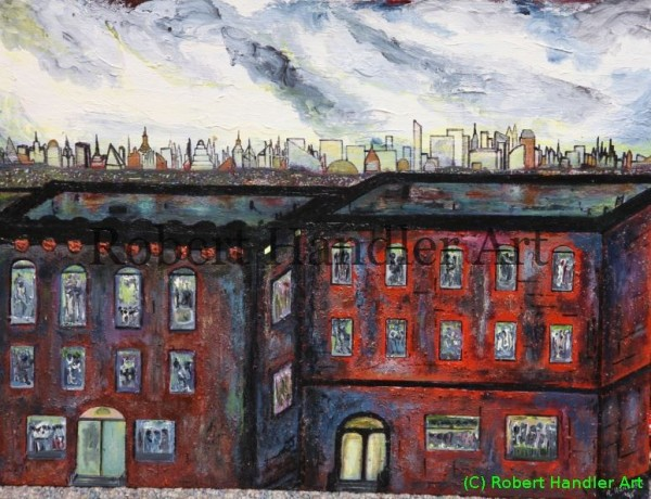 Tenements After The Rain